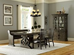 Bellamy Dining Table Available At Brown Squirrel Furniture In Knoxville, TN  Pedestal Dining Table,