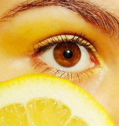 lemon yellow eye look