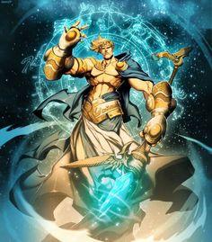 Uranus - God of Sky in Greek Mythology