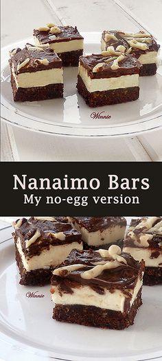 Nanaimo Bars. My no-egg version