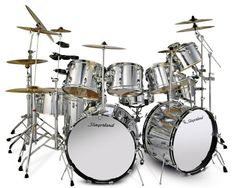 Music producer drum kit from Neil Peart, Vintage Drums, Snare Drum, Bass Drum, How To Play Drums, Double Bass, Music Theater, Drum Kits, Acoustic