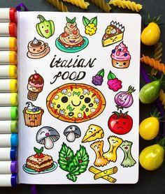 "303 Gostos, 4 Comentários - Ekaterina (@alexkipnis) no Instagram: ""Bright and tasty Italian cuisine """