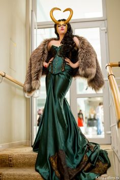 Cosplay of Lady Loki. I will make more shootings soon Lady Loki Cosplay Diy, Best Cosplay, Cosplay Girls, Cosplay Costumes, Cosplay Ideas, Simple Cosplay, Casual Cosplay, Cosplay Makeup, Marvel Cosplay