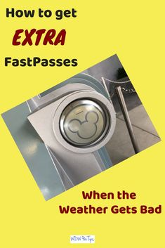 Today I'm going to tell you how to take advantage of bad weather to get extra FastPasses at Walt Disney World! This is a little known technique that can make a big difference! #FastPass #DisneyFastPasses #DisneyWorldTips
