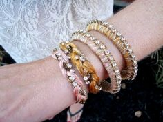 Fabulous Swarovski Crystal Chain Jewelry Tutorials - The Beading Gem's Journal