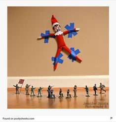 20 Fun Elf on the Shelf Ideas to keep your elf moving. Elf antics and fun mischief for your Elf on the Shelf this holiday season. To Do App, Elf Auf Dem Regal, Timmy Time, Naughty Elf, Buddy The Elf, And So It Begins, An Elf, Christmas Elf, Christmas Ideas