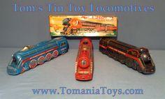 Tom's Tin Toy Trains & Locomotives