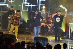 Na scenie zagościła również legenda polskiego rapu – Molesta (fot. TVP)