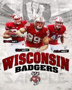 TJ Watt Twitter Post University Of Wisconsin Football, Wisconsin Badgers Football, Pittsburgh Steelers, College Football, Derek Watt, Badger Sports, James Watt, Jj Watt, Football Season