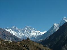 Everest Ana Dablam From Namche
