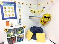 creative teaching press - emoji fun classroom reading corner