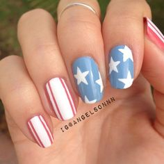 Beige nails are a great go-to this season. They're anything but boring with the beige nails we found for you to use as inspiration. Beige Nails, Nude Nails, My Nails, How To Do Nails, Stiletto Nails, Acrylic Nails, Patriotic Nails, 4th Of July Nails, 4th Of July Makeup