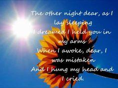 You are my sunshine (with lyrics) - YouTube
