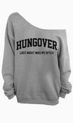 "Wow... I need this for the Holidays. Only time I get shit faced enough to say, ""Shut up... I have a hangover..."" And there's no one around."