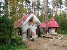 Houses of the gnomes | Roggebotsebos in Dronten (Flevoland),… | Flickr