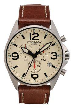e9900208e4e TORGOEN Swiss Mens Watches Pilots Aviation Watch