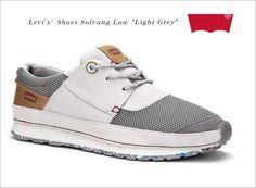 """Levi's® Shoes Solvang Low """"Light Grey""""  #jeanspl #buty #levis"""