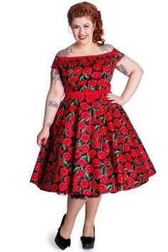 Red Poppy 50s Cordelia Dress