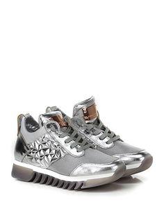 ALEXANDER SMITH LONDON - Sneakers - Donna - Sneaker in pelle laminata a1342f66dfe