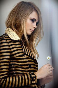 cara delevingne brown hair color - Google Search