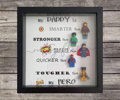 personalised superhero figure frame batman spiderman. Black Bedroom Furniture Sets. Home Design Ideas