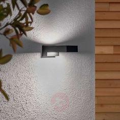 Natalja black LED bathroom wall lamp | Lights.ie