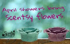 April Showers Bring Scentsy Flowers Petal Element Warmers: Spring/Summer 2015. Cksavoryscents.scentsy.us