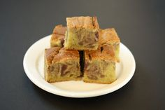 Green Tea Mochi Cake with Red Bean Swirl | Kirbie's Cravings | A San Diego food blog