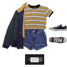 Untitled #121 by hnnhstpls on Polyvore featuring Jag and Converse