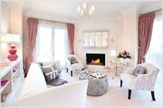 32 Amazing Feminine Living Room Design Ideas , For a living space, for example, start with a coffee table that you are able to center in the room. No matter the type of style your room has, a daybe. Eclectic Living Room, Chic Living Room, Living Room Decor, Cozy Living, Living Room Modern, Home And Living, Living Room Designs, Living Place, Modern Couch