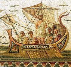 Roman sailing ship