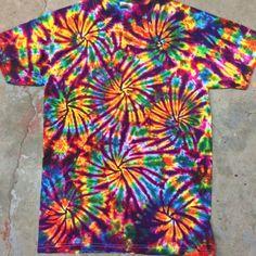 tie dye shirt Fireworks size Small tye die tiedye tie dyes