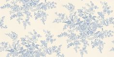 Vintage Dauphine (PRL028/03) - Designers Guild Wallpapers - A delicate romantic paper with a vintage appeal, and colours to reflect the period feel. Shown here in porcelain. Please request a sample for true colour match.