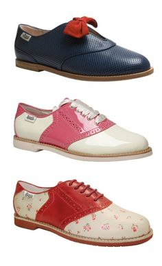 Bass ♥ Rachel Antonoff  cute Lindy Hop shoes!  and I know the designer she's awesome!!! :)