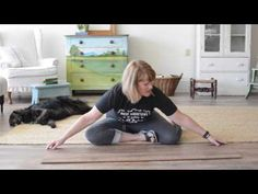 Miss Mustard Seed gets creative with our French Country Oak planks - Quick•Step® Style
