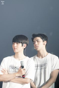 Baekhyun, Sehun - 160318 Exoplanet #2 - The EXO'luXion [dot] Credit: Wallet for EXO.