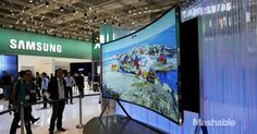 Samsung's new 105-inch UHD TV can go from flat to curved in just a few seconds, and it costs as much as a Ferrari!