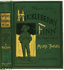 Huckleberry Finn book.. Loved reading this book, it was a great summer read