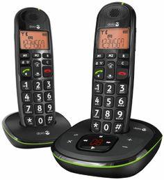 Doro PhoneEasy 105wr Duo, 20 entradas, 15 min, 300m, 50m, Negro, 10 h [importado de Alemania] B003N7YSDW - http://www.comprartabletas.es/doro-phoneeasy-105wr-duo-20-entradas-15-min-300m-50m-negro-10-h-importado-de-alemania-b003n7ysdw.html