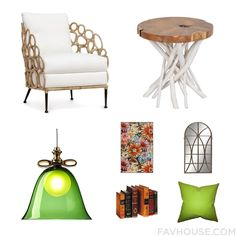 Room Update Including Palecek Accent Chair White Table Moooi Ceiling Light And Contemporary Rug From August 2016 #home #decor