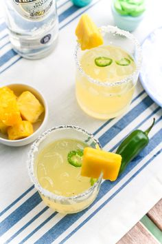 Spicy Pineapple Marg