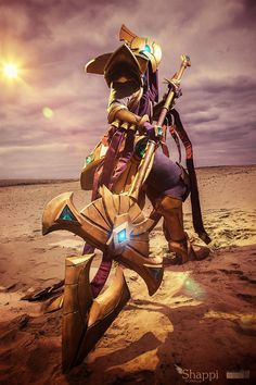 Azir : League of Legends by Shappi on DeviantArt