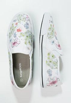 Bestill KangaROOS Slippers - white/multicolor for kr 239,00 (28.04.16) med gratis frakt på Zalando.no