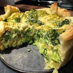 Broccoli Pie for dinner 💚 Find the recipe on my blog blueberryvegan.com