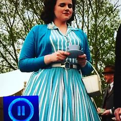 photos of bunty from father brown Fashion Beauty, Film Fashion, Fashion Outfits, Womens Fashion, Emer Kenny, British Costume, Build A Wardrobe, Halloween Images, Brown Fashion