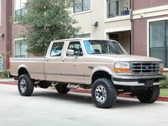 1997 Ford F-350 7.3L Diesel Crew Cab Long Bed 4X4 Lifted! GA
