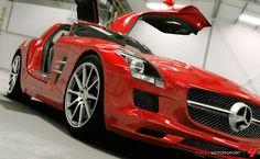 Mercedes-Benz SLS AMG HD Wallpaper