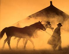 Cowboys have it. Hugh Beebower's photos have it. working Cowboys, horses, and ranches make the best Old West Art. Real Cowboys, Cowboys And Indians, Western Photography, Equine Photography, Photography Tips, Into The West, West Art, Ranch Life, Cowboy And Cowgirl