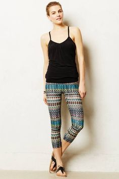Anthropologie Prismsport Paola Cropped Leggings on shopstyle.com