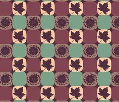 Petunia Mosaics. fabric by yoelis_furcal on Spoonflower - custom fabric